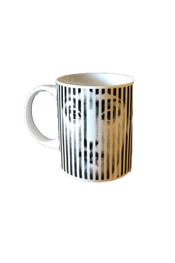 Striped Face Mug Cup Model