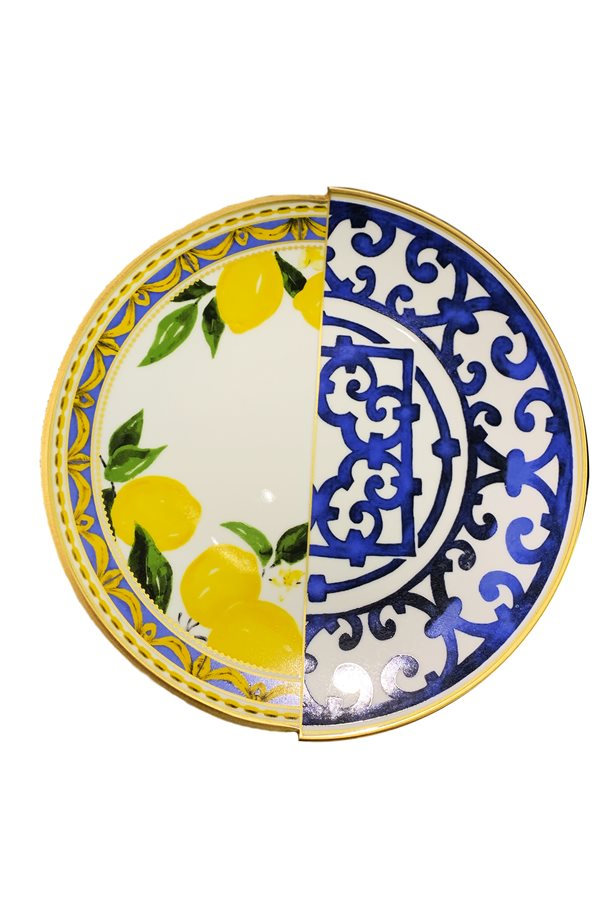 Lemon Series 6-Piece Service Plate