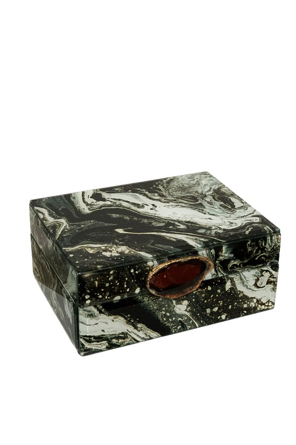 Natural Stone Marble Pattern Box