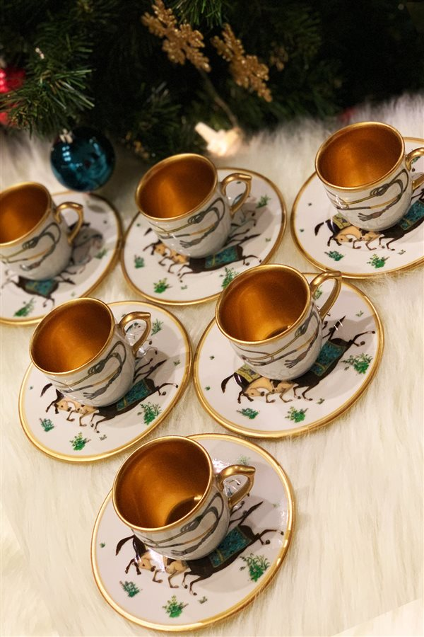 Hippodrome 6-Piece Cup Set