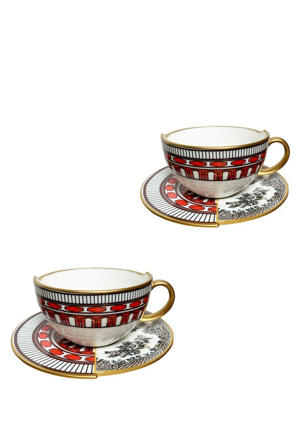 Apollo Series 2-Piece Nescafe Cup Set