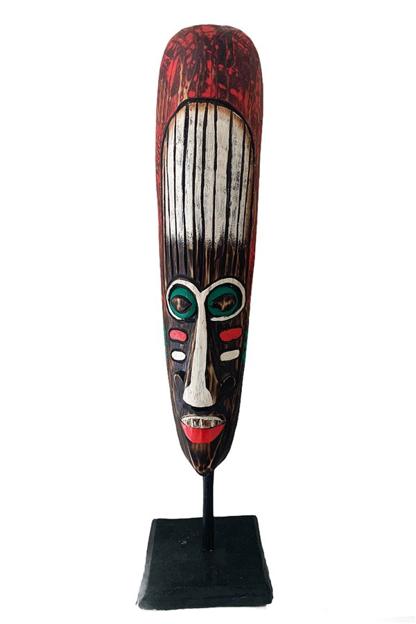 Decorative African Face Mask