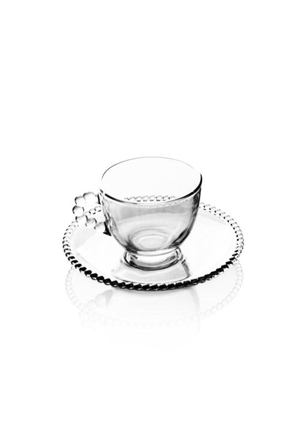 Bead Detailed 6-Piece Cup Set