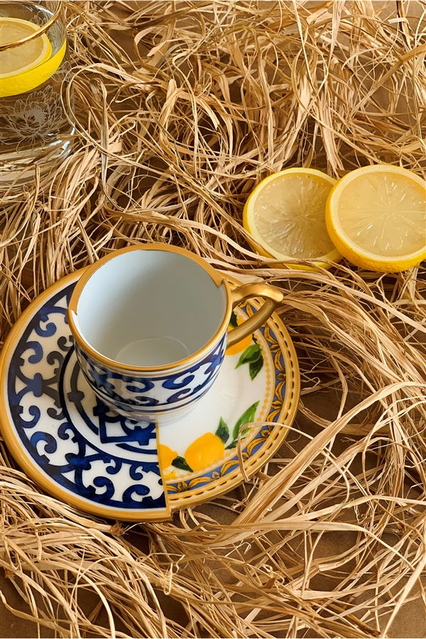 Lemon Series Gift Packed 2-Cup Set