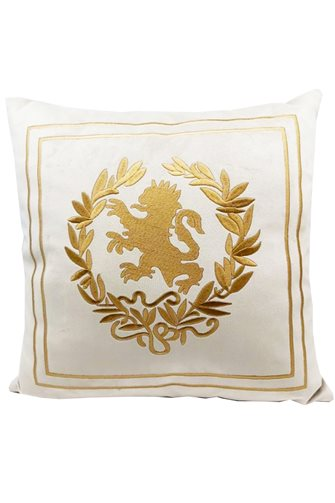 Lion Head Cushion