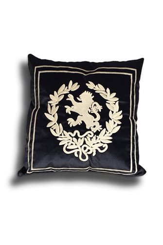 Black Lion Head Cushion