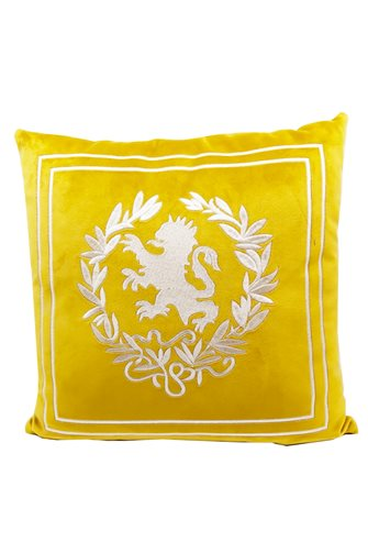 Yellow Lion Head Cushion