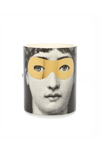 Gold Glasses Face Candle