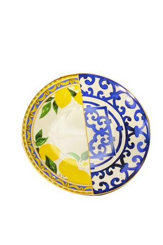 Lemon Series 6-Piece Cake Plate