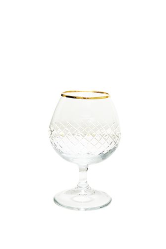Pineapple Decor Coffee Side Glass
