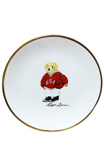 Teddy Bear Detailed Plate 12