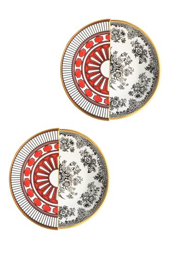 Apollo Series 2-Piece Cake Plate
